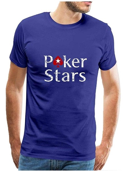 Camiseta pokerstars azul