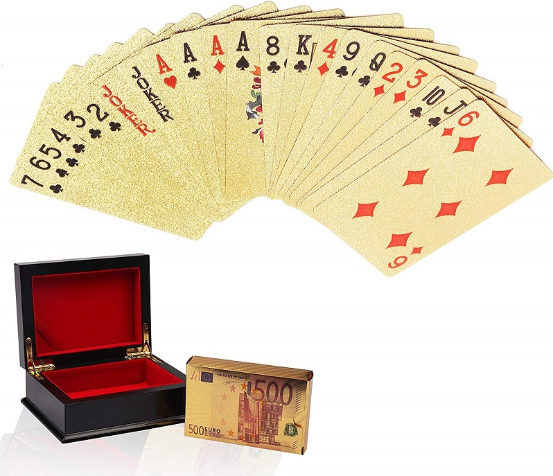 Regalos con cartas de Poker